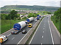 SD8015 : Turbine Convoy passing Ramsbottom on the M66 by Paul Anderson