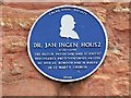 Photo of Jan Ingenhousz blue plaque