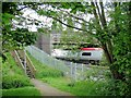 SJ6958 : Crewe - footpath 13 and Moss Bridge by Mike Harris