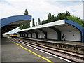 TQ2166 : Malden Manor station by Stephen Craven