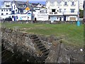 C8540 : Steps, Wee Dock, Portrush by Kenneth Allen