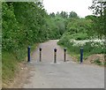 SK5701 : Disused road on the Aylestone Meadows by Mat Fascione