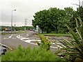 TL0328 : M1 motorway North looking South from the Toddington services by Steve  Fareham