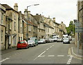 ST7767 : 2008 : Looking west on London Road, Batheaston by Maurice Pullin