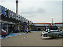 SK5839 : Lady Bay Retail Park by Alan Murray-Rust