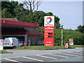 TL4042 : Prices at Total Garage,Flint Cross by Keith Edkins