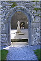 M2908 : Looking into Corcomroe Abbey - Abbey West Townland by Mac McCarron