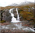 NN1856 : Glencoe Water Fall by Nigel J C Turnbull