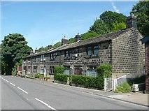 SE0023 : Springfield Terrace, Cragg Road B6138, Cragg Vale, Mytholmroyd by Humphrey Bolton