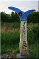 SK4333 : Route 6 Milepost by David Lally