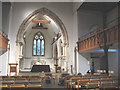 TQ2971 : Nave of St Leonard's church by Stephen Craven