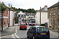 SW7544 : Fore Street Chacewater with Buses by Tony Atkin