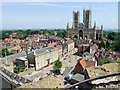 SK9771 : Lincoln Castle, Lincoln by Dave Hitchborne