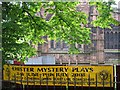 SJ4066 : Chester Mystery Plays banner 2008 by John S Turner