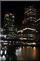 TQ3780 : Canary Wharf : Week 25
