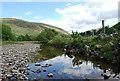 NS6307 : Afton Water, New Cumnock by Robert Guthrie