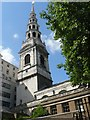 TQ3181 : City parish churches: St. Bride Fleet Street by Chris Downer