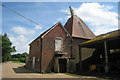 TQ7142 : Unconverted Oast House at Castlemaine Farm, Rams Hill, Horsmonden, Kent by Oast House Archive
