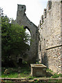 TG1143 : C12 Augustinian priory ruin adjoining All Saints church by Evelyn Simak