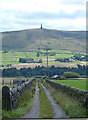 SD9525 : Matthew Lane, Todmorden : Week 28