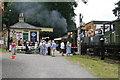 SU7585 : Fawley Hill Railway by Chris Allen