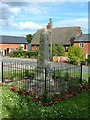 SP7130 : Padbury War Memorial by Mr Biz