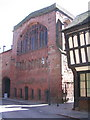 SP3378 : St Mary's guildhall, Bayley Lane by E Gammie