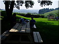 SX1061 : Lunch at Restormel Castle by Tessa Shepperson
