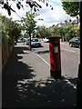 SZ1293 : Iford: postbox № BH7 306, Meon Road by Chris Downer