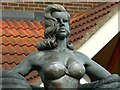 SU1184 : Diana Dors statue, Shaw Ridge Leisure Park, Swindon by Brian Robert Marshall