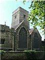 Situated on the 12th Century site of the original church next to the River Darent at the site of the original ford.