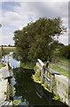 TL5267 : Derelict lock gates at Lode Farm by RRRR NNNN