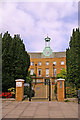 TQ2792 : Entrance to Aldermen Court, London N11 by Christine Matthews