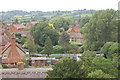 SP8019 : Hardwick  north view from church tower. by John Firth