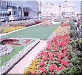 TV6198 : Flowerbeds on Eastbourne promenade, 1965 by G H Clarke