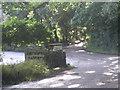 SW4425 : Lane beside Lamorna Pottery by Row17