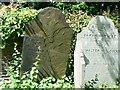 SX4559 : Decaying gravestones, St. Budeaux churchyard, Plymouth. by Mick Lobb