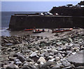 SW4524 : Quay at Lamorna by Trevor Rickard