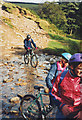SK1587 : Mountain biking in Jagger's Clough by Stephen Craven