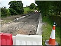 SE2802 : Hopping Lane flood damage by Wendy North