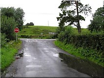 H3742 : Road junction at Dungoghy by Kenneth  Allen
