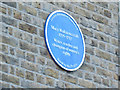 Photo of Mary Wollstonecraft blue plaque