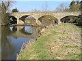 SJ2204 : River Severn,Cilcewydd road bridge by kevin skidmore