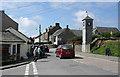 SX0683 : St Teath: Clock Tower, Delabole by Martin Bodman