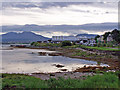 NG6423 : Broadford Bay shoreline by Richard Dorrell