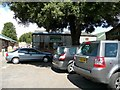 SE2708 : Cannon Hall Farm shop and car-park by Wendy North