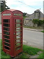 SY5288 : Swyre: telephone box by Chris Downer