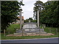 TM3959 : War Memorial, Snape by Adrian Cable