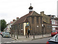 TQ2771 : Former St Swithun's church, Kellino Street by Stephen Craven