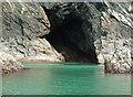 SN1045 : Cave near Pwll y Wrach, Moylgrove : Week 35